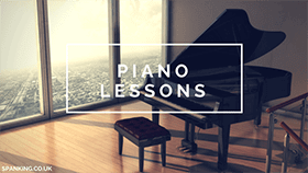 Piano Lessons with a hint of fetish, bondage and spanking