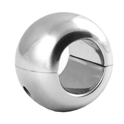 Donut Ball Stretchers are used in CBT cock and ball torture, fetish, BDSM