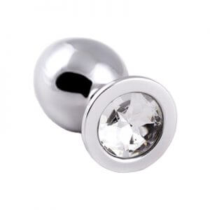 Silver Butt Plugs are very pretty so try one of our jewelled butt plugs with diamond gem