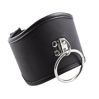 Leather Posture Collar great for your Sub in fetish, BDSM, bondage