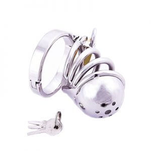 Pepper Pot Cock Cage is part of our CBT range made from Stainless Steel
