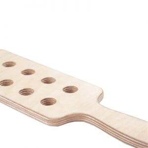 Rough Justice Wooden Spanking Paddle to satisfy all your needs by spanking.co.uk