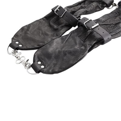 Real Leather Arm Binders these extreme restraints will fit you like a glove
